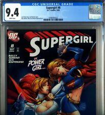 PRIMO:  SUPERGIRL #8 vs POWER GIRL NM 9.4 CGC 2006 DC comics