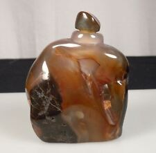 Chinese Agate Stone Snuff Bottle 88559