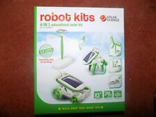 6 in 1 Educational Learning Power Solar Robot Kit Build Your Own Solar Kit - NEW