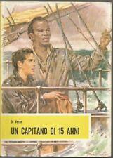 UN CAPITANO DI 15 ANNI-G.VERNE-FRATELLI FABBRI EDITORI-1955