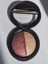 Laura Geller Baked Marble Eye shadow eyeshadow Duo Mulberry / Oyster 1.8g