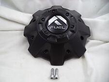Fuel Offroad Custom Wheel Center Cap 1001-63BR M-542 Flt Blk 5 & 6 Lug NEW One