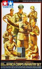 Tamiya 32561 1/48 Scale Model Figure Kit WWII German Africa Corps Infantry Set