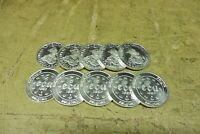 Anlegerposten , Belgien Silber, 10 x 5 ECU , 228,5 gramm, Investorenpaket