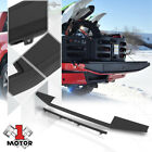 Black OE Style Top Flex Step Tailgate Moulding Trim Cover for 15-18 Ford F150