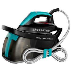 Russell Hobbs Digital Steam Station Clothes/Garment Ironing Handheld 1.3L Water