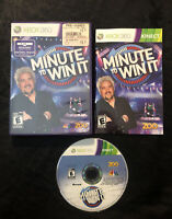 Minute to Win It — Complete! Fast Free Shipping! (Xbox 360, 2011) Kinect