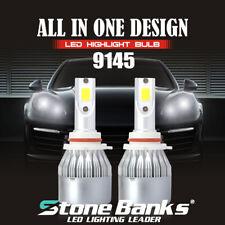 9145 9140 LED Headlight Bulbs Fog Light Beam 150m Front Lamp 100W 20000LM 6000K