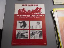 *      MARSHALL TUCKER-LONG HARD RIDE -SHEET MUSIC -unused store stock