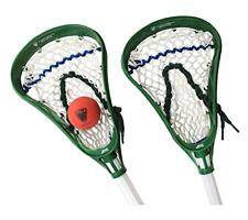 Indoor Outdoor Plastic Soft Mesh Pockets Major League Lacrosse Mini Sticks Set