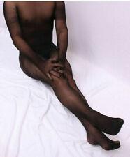 Мужские женские 360 ° бесшовный всего тела чулок любой вырез прозрачный боди комбинезон перчатки