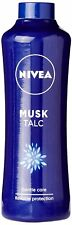 Nivea Musk Talc For Skin Care Protection Against Body Odor - 400Gram