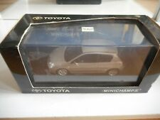 Minichamps Toyota Corolla 3-Doors in Grey on 1:43 in Box