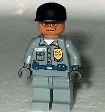 BATMAN #01B Lego Arkham Asylum Guard Dk Flesh NEW Genuine Lego 7785 1st issue