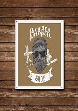 Barber Shop Sign, Metal Sign, Barber Shop Signs, Modern Style, Barber Shop, 708