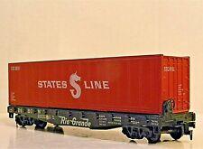 Athearn FLATCAR D&RG 22315 Container Load - UNIQUE & RARE - HO