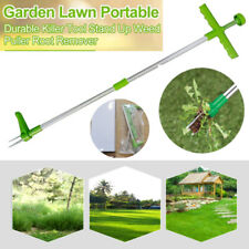 Portable Long Handle Weed Remover Garden Lawn Yard Grass Root Puller Weeder Tool