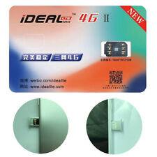 iDEAL 4G Ⅱ Unlock Turbo Sim Card for iPhone 5 5c 5s SE 6 7 8 8 Plus X Universal