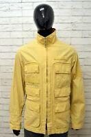 TIMBERLAND Uomo Giacca Cappotto Giubbotto Taglia XL Giubbino Cotone Jacket Man