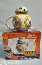 New Star Wars BB-8 3D Coffee Cup BB8 Sculpted Shaped Ceramic Mug Cup