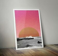 Abstract Prints Printable Wall Decor Downloadable Illegal Summer Sun Sea