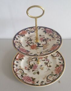 Masons Mandalay  2 tier cake stand in good condition