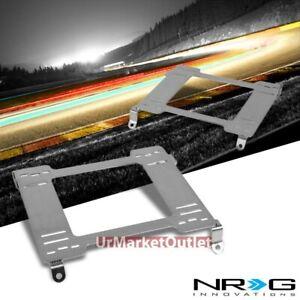 2x NRG Mild Steel Racing Seat Mount Bracket Adapter For Nissan 89-98 240SX