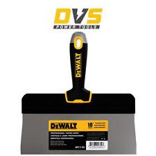 "Dewalt DXTT 2-192 10"" Stainless Steel Big Back Taping Spatula Soft Grip Handle"