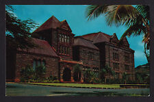 c1953 Nani Li'i Bishop Museum Honolulu Hawaii postcard