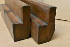 Moulding Plane: pair of No.18 hollow and round planes by Brain Late Shepley & Co