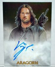 Lord of The Rings Trilogy Viggo Mortenson As Aragorn Chrome Autograph Sign Card