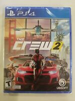 The Crew 2  PS4 PlayStation CAR RACING NEW SEALED FREE S/H