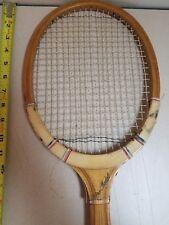 Vintage Macgregor Pro Model Wooden Tennis Racket Racquet * Custom Crafted *