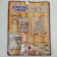 MOC 1989 Starting Lineup Baseball Greats Figures Johnny Bench & Pete Rose