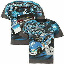 Dale Earnhardt Jr Nationwide Total Print T-Shirt From Checkered Flag Adult 3XL