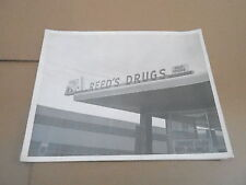 #117 VINTAGE MILWAUKEE WI ADVERTISING SIGN PHOTO - REEDS DRUG STORE