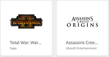 Total War: Warhammer 2 and Assassin's Creed Origins - Master Keys (PC Download)