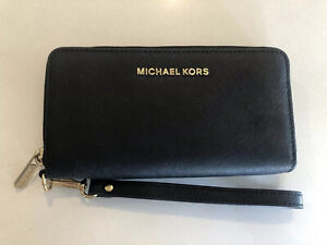 Authentic Michael Kors Wallet Black with Gold Hardware New never used