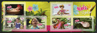 French Polynesia 2018 MNH Babies 6v S/A Booklet Plants Flowers Nature Stamps