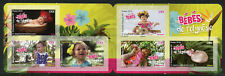 More details for french polynesia 2018 mnh babies 6v s/a booklet plants flowers nature stamps
