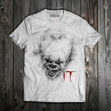 MAGLIETTA IT PENNYWISE DRAWING T-SHIRT COTONE UOMO DONNA