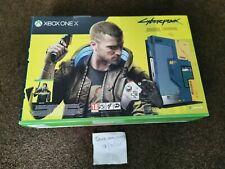 Xbox One X Cyberpunk 2077 Limited Edition + Game + DLC - Still In Shipping Box