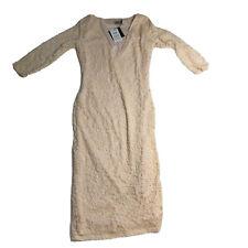 ASOS Cream Lace Dress NWT Women's Size 8