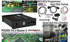 Suite de serie V4.3 piasini Master 5 ECU programador OBD2 Chip Tuning BDM Jtag