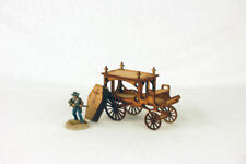 Old West/Lampe à gaz Alley Horse Drawn Hearse 28 mm G068 Sarissa Precision
