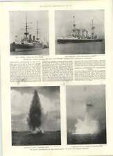 1901 Torpedo Experiments Porchester Creek Scotch Boilers Sir Andrew Fairbairn
