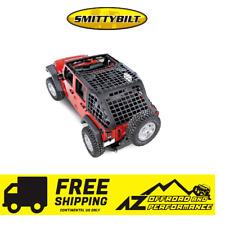 Smittybilt C.RES System Cargo Net 2007-2018 Jeep Wrangler JK 4 Door 581035 Black