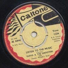 '67 CALTONE ROCKSTEADY 45 LLOYD JACKSON & THE GROOVERS LISTEN TO THE MUSIC ♫