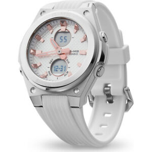 G-Shock G-MS Women's Silver & White Shock Resistant Watch MSRP $125
