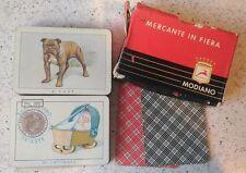 MERCANTE IN FIERA Bollo dicembre 1967 lire 300 Modiano 80 Carte da gioco